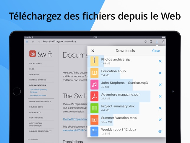 Documents par Readdle Capture d'écran