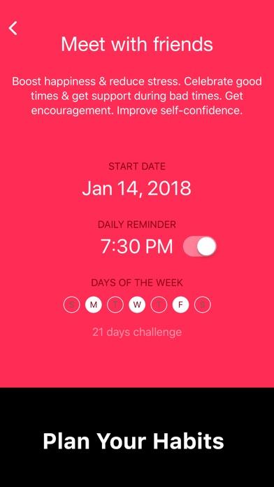 Simple Habit Tracker Screenshots
