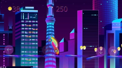 neon city: race mania Screenshot 3