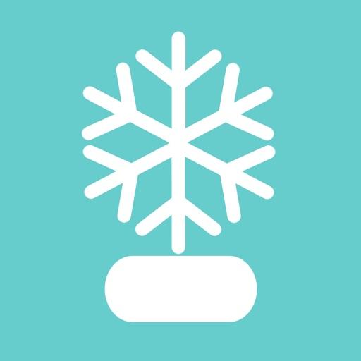 Christmas Snow Globe Sticker