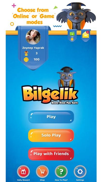 Bilgelik Online Word Game