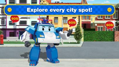 Screen Shot Robocar Poli: Rescue City Cars 3