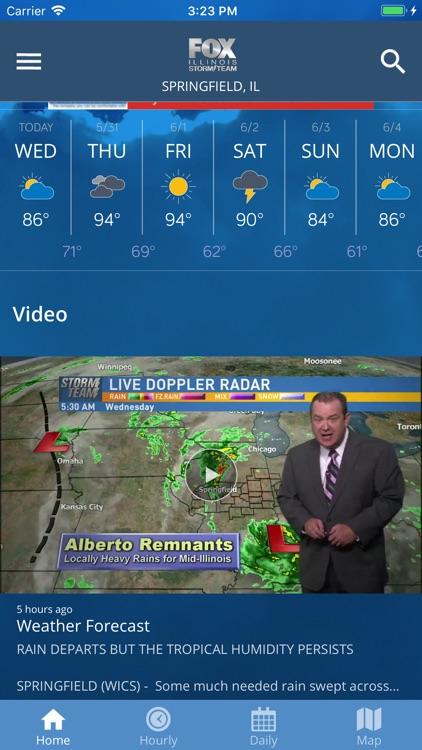 Fox Illinois Weather App screenshot-4