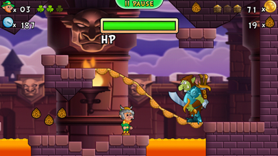 Lep's World 3 - Jumping Games Screenshot on iOS