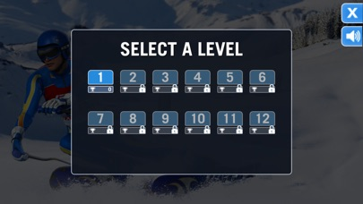 Ski Sprint Challenge screenshot #2
