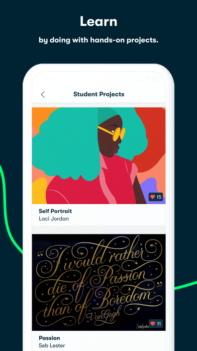 Skillshare - Creative Classes Screenshot