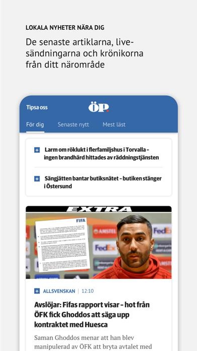 ÖP Nyhetsapp på PC
