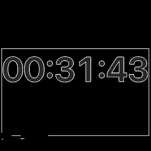 Big Window Clock