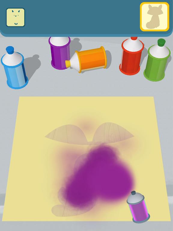 Cut and Paint iPad app afbeelding 3
