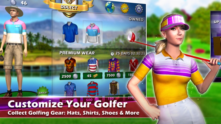 Golden Tee Golf: Online Games screenshot-4