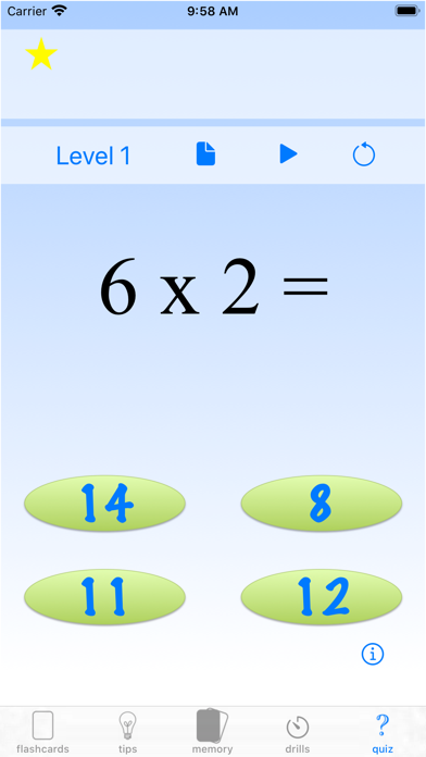 multiplication drills: X screenshot 9