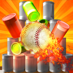 Cans Hit Knock Down & Ball hit