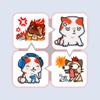 ملصقات قطط