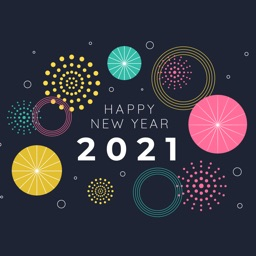 2021 New Year Animated Sticker