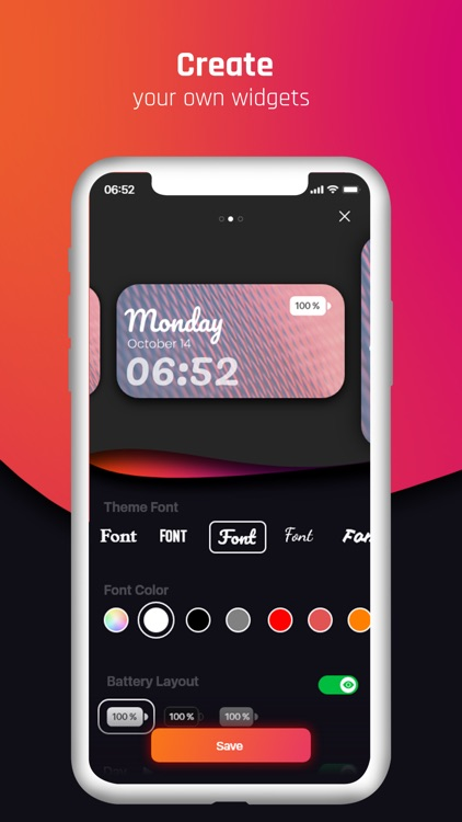 Widget World : Stylish Widgets screenshot-3