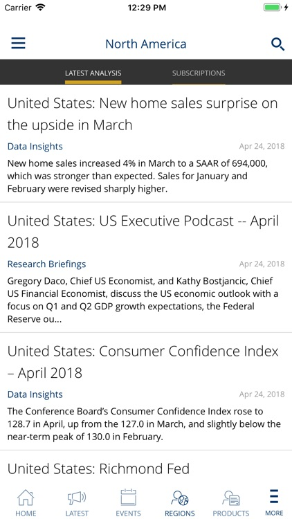 Oxford Economics App screenshot-4