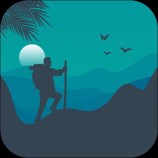 Topo Map & Hiking Tracker