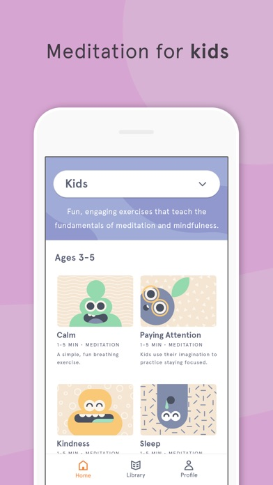 Headspace: Meditation Screenshot on iOS