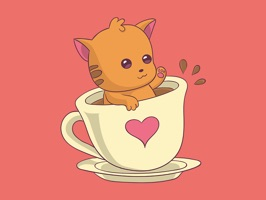 Adorable Valentines Stickers