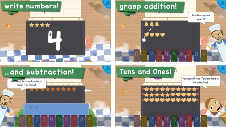 Math Bakery First Grade screenshot-3