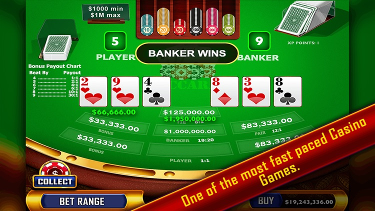 Baccarat - Casino Style screenshot-0
