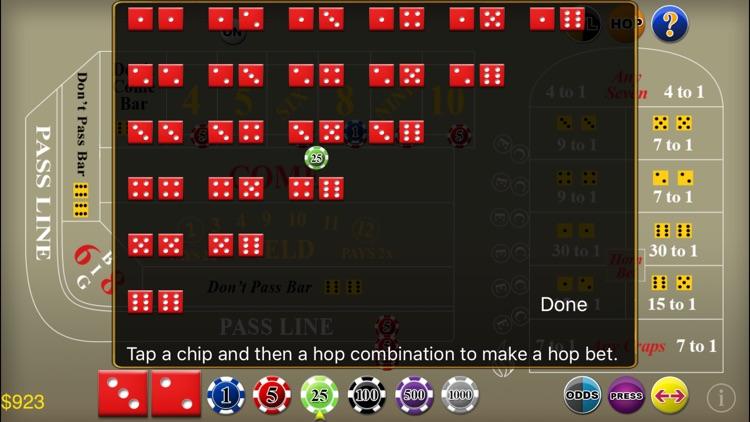 Craps Deluxe screenshot-8