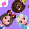 百小シシ、小さな王女メイク、女の子のドレスアップゲーム