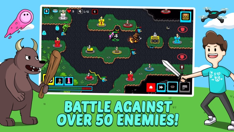 Cats & Cosplay: Tower Defense screenshot-3