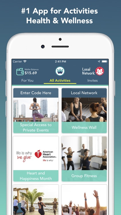 TagWell - Local Wellness App