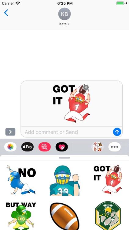 Football Emojis screenshot-3
