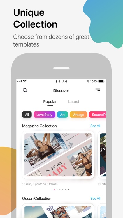 Stories Editor & Collage Maker
