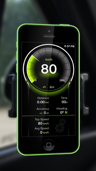 Screenshot for GPS Digital Speed Tracker Pro in Russian Federation App Store