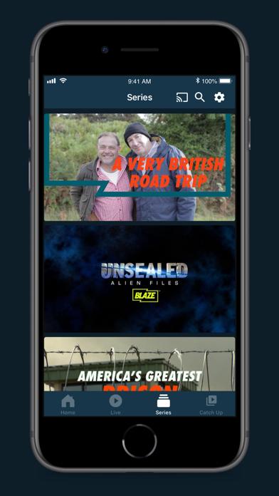 Blaze TV screenshot three