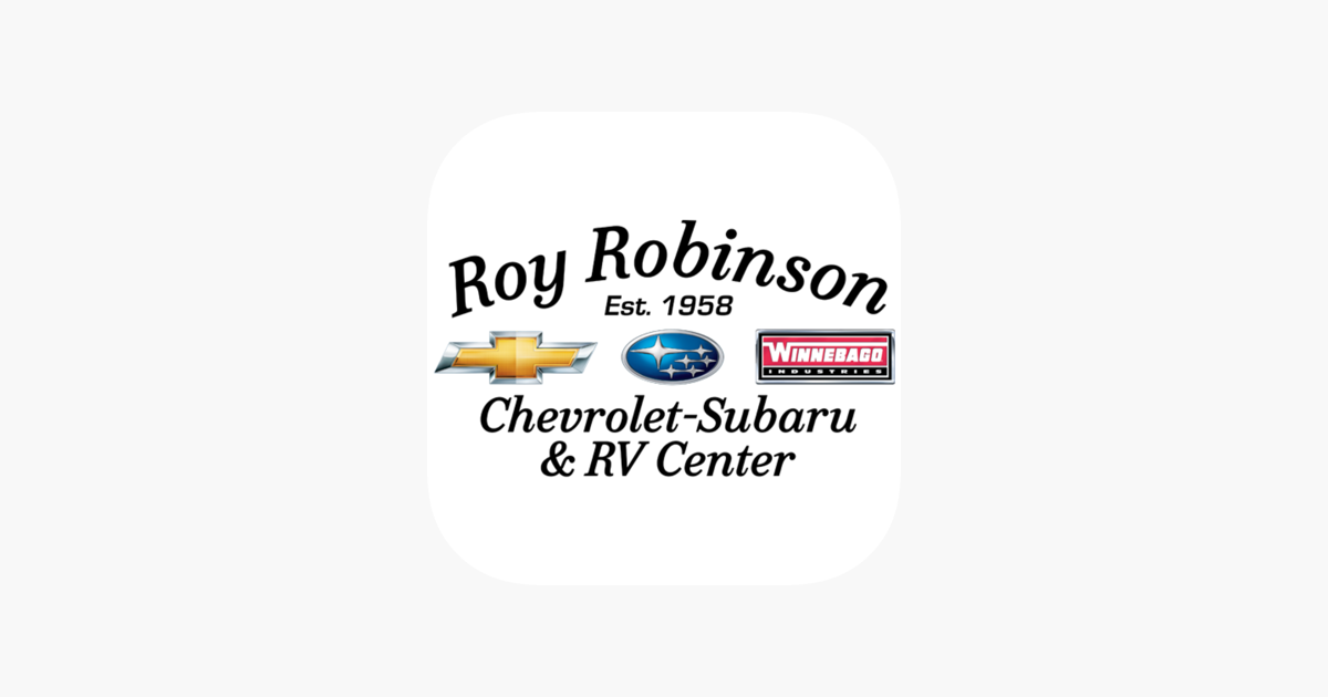 Roy Robinson Dealerapp On The App Store
