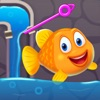 Save The Fish - Pull Pin