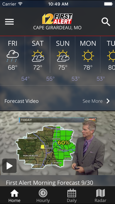 Kfvs12 Stormteam Weather review screenshots