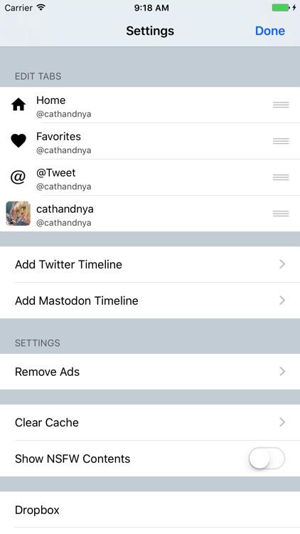 Ore2 for Twitter & Mastodon