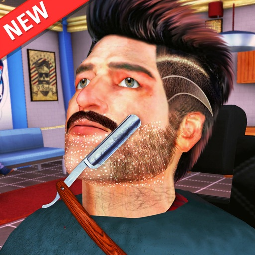 Barber Shop Men Hair Saloon 3D