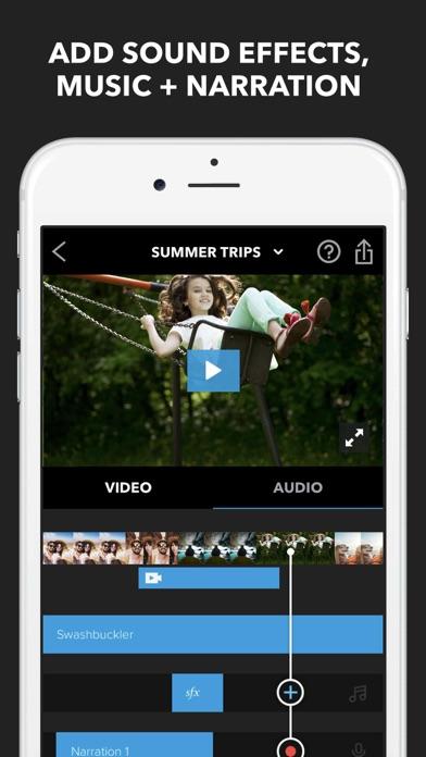 Screenshot for Splice - Video Editor & Maker in Philippines App Store