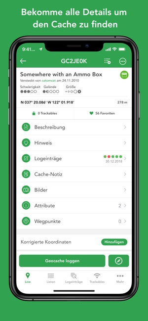 Cachly - Geocaching im App Store on
