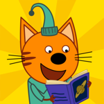 Три кота:книги, игры для детей на пк