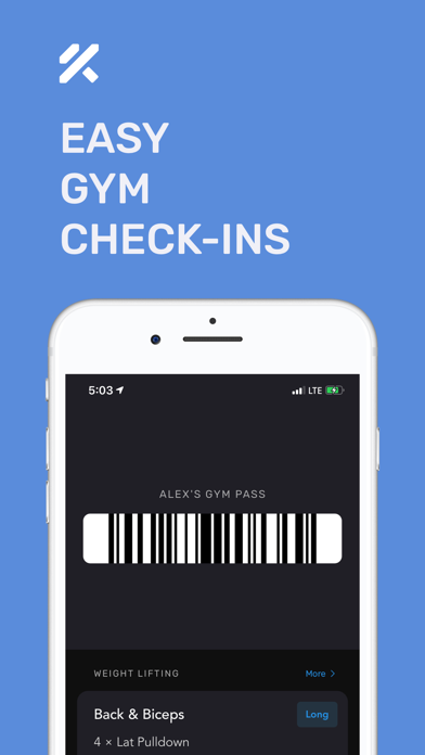Strength Training – FitnessAI Screenshot