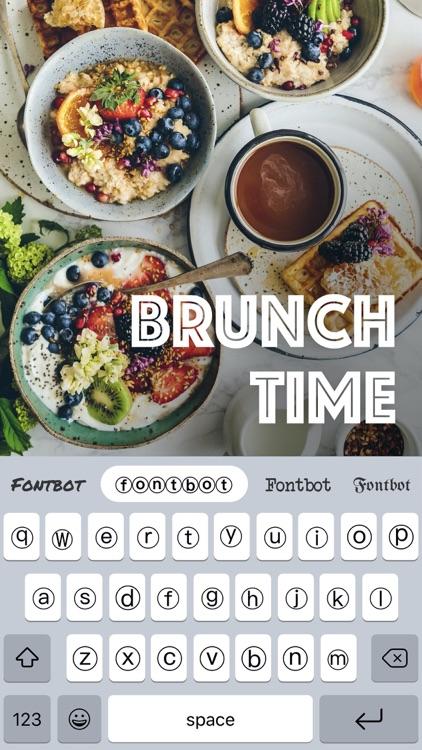 Fontbot: Custom fonts keyboard screenshot-7
