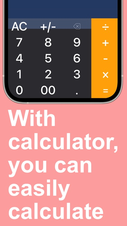 Calmo-Easy to use calculator
