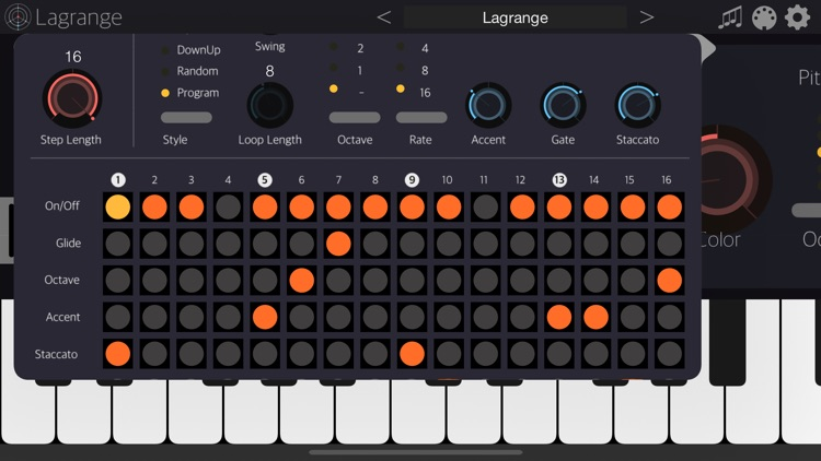 Lagrange - AUv3 Plugin Synth screenshot-7