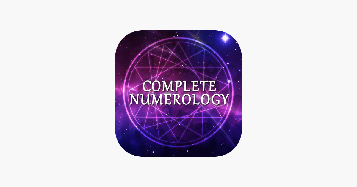 Complete Numerology Analysis on the App Store