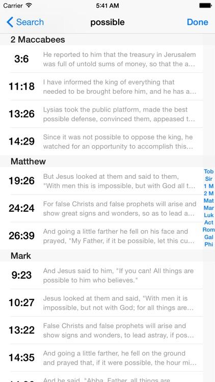 VerseWise Bible RSV-CE screenshot-4