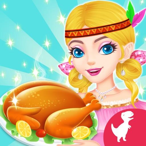 Thanksgiving Food Cooking Game