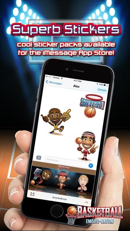 Basketball Emojis Nation screenshot-3