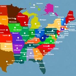 US Capitals Puzzle